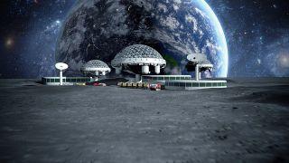月球,俄欧,2030,盘点,南极,中美 2030年后月球南极很热闹:盘点中美俄欧月球基地计划